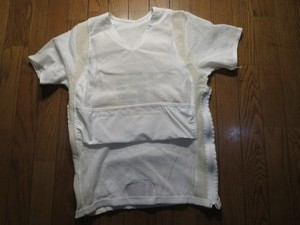 "U.S.Body Armor Small Arms ""Point Blank""sizeM? used"