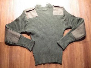 U.S.NAVY Sweater 100%Wool 2008年 size36 used?