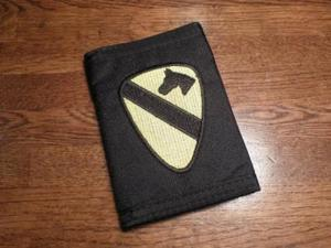 "U.S.ARMY Wallet""1st cavalry division"" new"