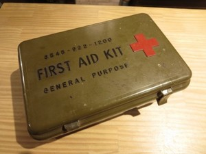 U.S.First Aid Kit Case with Inside 1970年