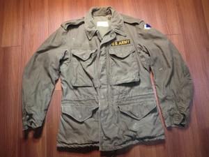 U.S. M-1951 Field Jacket 1956年 sizeXS-Short used