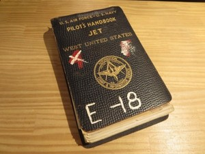 U.S.AIR FORCE U.S.NAVY Pilot's HandBook 1950年代
