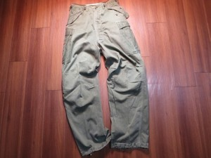 U.S.ARMY M-51 Field Trousers 1962年 sizeS-Long used