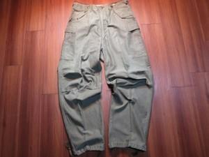 U.S.ARMY M-51 Field Trousers 1951年 sizeM-Long used