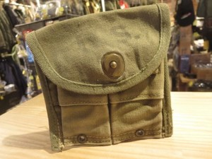 U.S. Pouch for M1Carbine Magazine 1945年 used
