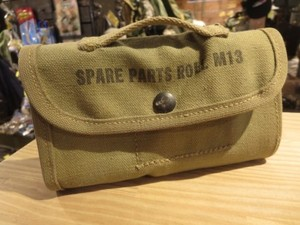 U.S. Pouch for Spare Parts Roll M13 1940年代? used