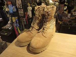 U.S.Combat Boots hot Weather Coyote? size7XW used