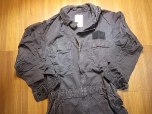 U.S.NAVY Coveralls 100%Cotton FR size46R used