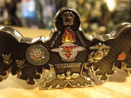 """U.S.NAVY/MARINE CORPS Challenge Coin """"ORDNANCEMAN"""""""