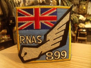 "U.K. Patch ""R.N.A.S 899"" new?"