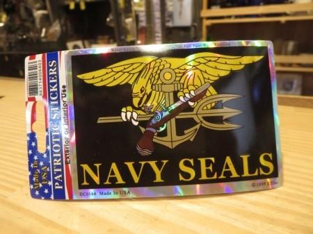 """U.S.NAVY STICKER """"NAVY SEALS(Trident)"""""""
