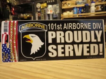 """U.S.ARMY STICKER """"101st Airborne Division"""""""
