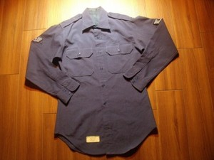U.S.AIR FORCE Shirt Tropical 1975年 size15 1/2?