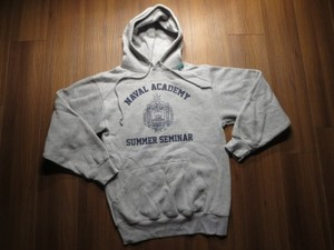 U.S.NAVAL ACADEMY Sweat Hooded sizeS used