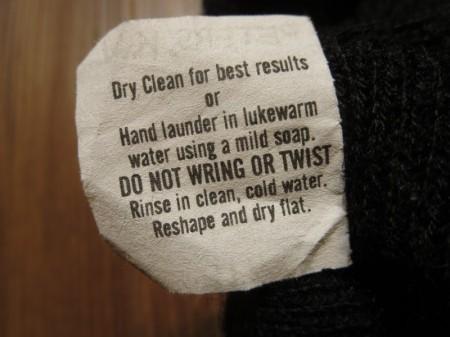 U.S.NAVY Watch Cap 100% Wool 2001年 used