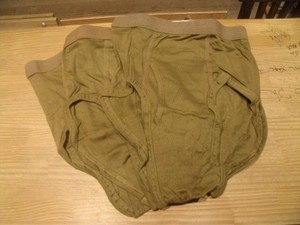 U.S.3Briefs Sets Men's 100%Cotton 1985年 size34 new