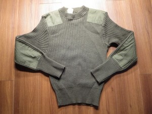 U.S.Sweater 100%Wool 1995年 size38 used