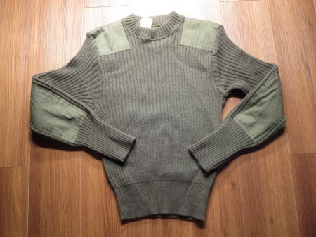 U.S.Sweater 100%Wool 1995年 size38 used