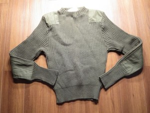 U.S.Sweater 100%Wool 1997年 size38 used