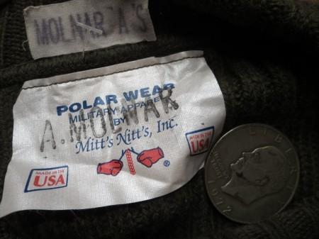 U.S.Sweater 100%Wool 1997年 size38 used