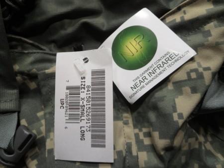 U.S.ARMY Gore-Tex Parka ACU PX? sizeXS-L new
