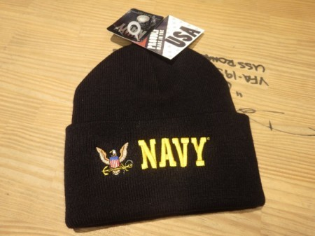 "U.S.NAVY Watch Cap ""NAVY Color"" new"