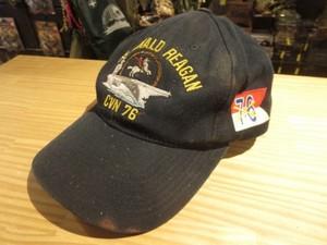"U.S.NAVY UtilityCap ""USS RONALD REAGAN CVN-76""used"