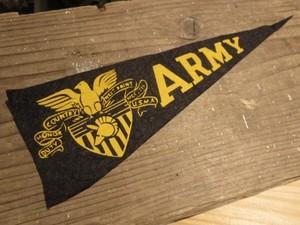 U.S.ARMY Pennant Mini 1950年代?