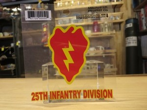 "U.S.ARMY STICKER ""25th Infantry Division"""