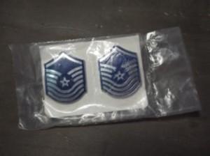 "U.S.AIR FORCE Insignia""SeniorMasterSergeant"" 1985年"