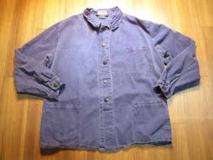 Germany Fatigue Jacket Cotton? sizeL? used