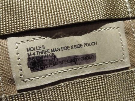 U.S Pouch M4 3Magazine MOLLEⅡ Coyote new?