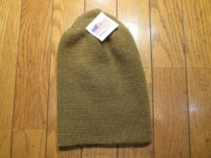 U.S.Watch Cap 100% Wool Coyote new