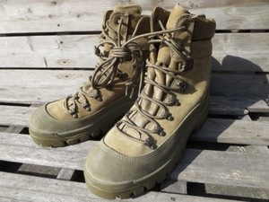 "U.S.Boots Combat Gore-Tex ""BATES"" size8R used"