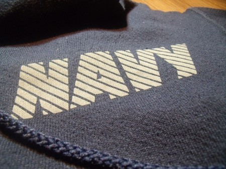 U.S.NAVY Hooded Parka Athletic sizeS used