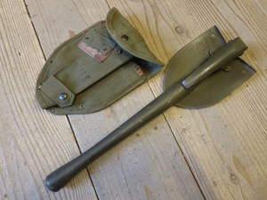 U.S.Entrenching Tool with Cover 1952年 used