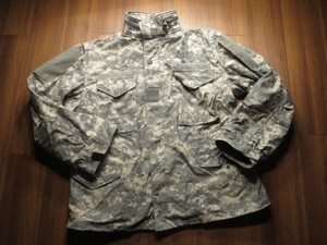 U.S.ARMY M-65 Field Jacket ACU sizeL-Short used