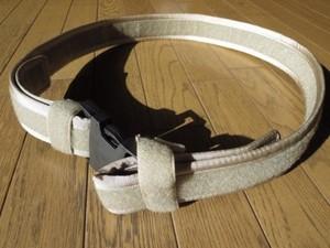 U.S.Belt Nylon? Tan sizeL new