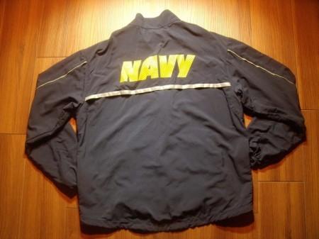 U.S.NAVY Jacket Running Athletic sizeS-Short used