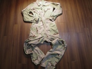 U.S.Coveralls Mechanics 3color Desert sizeM used