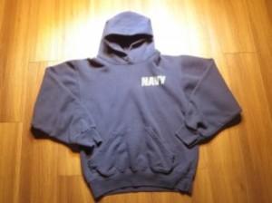 U.S.NAVY Hooded Parka sizeS used