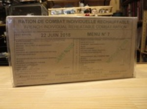 France Combat Ration for 1day (観賞用)