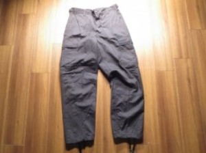 U.S.Trousers Black357 1997年 sizeS-Short new