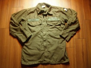 U.S.ARMY Shirt Flyer's Hot Weather 1960-70年代 sizeS