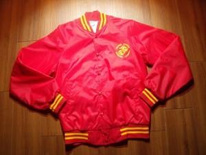U.S.MARINE CORPS Athletic Jacket Nylon sizeS used