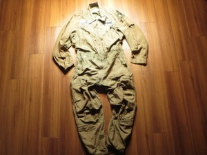 U.S.ARMY CoverAlls CombatVehicle 1989年 sizeM-Short