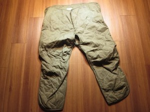 U.S.ARMY Liner for CoverAlls Combat Vehicle sizeM