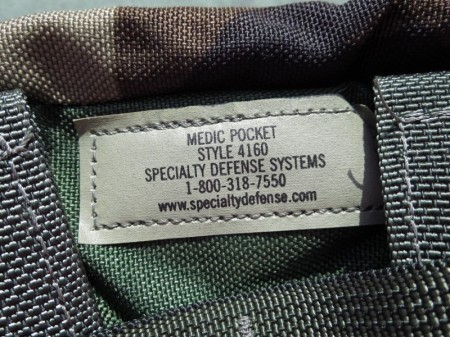 U.S.Pouch Medic Style4160 Woodland new?