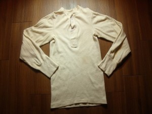 U.S.Undershirt Winter Wool/Cotton 1975年 sizeXS
