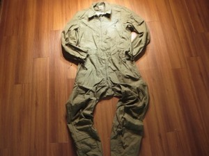 U.S.ARMY CoverAlls Combat Vehicle 1989年 sizeM-Long